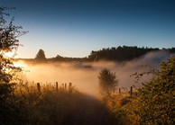 Sunrise at Bretby, South Derbyshire