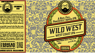 Wild West bottle label