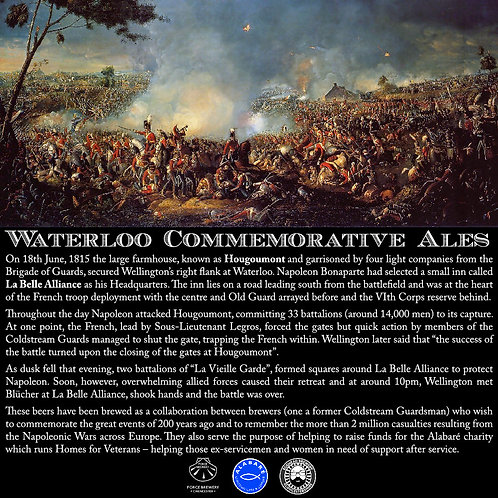 Waterloo Commemorative Beers