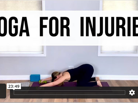 6 Tips for Practicing Yoga when Injured