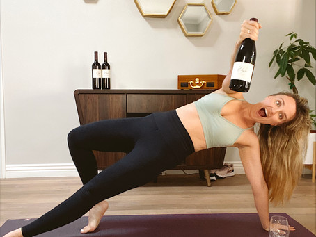 Yoga and Alcohol (and why I am okay with combining the two)