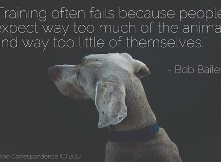 Bob Bailey ... so true!