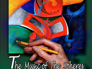 Adult Coloring Book - The Music of the Spheres