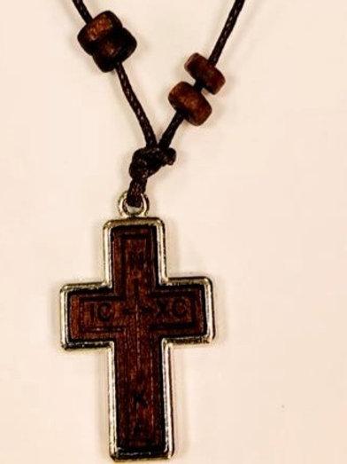 Нательный деревянный Крестик