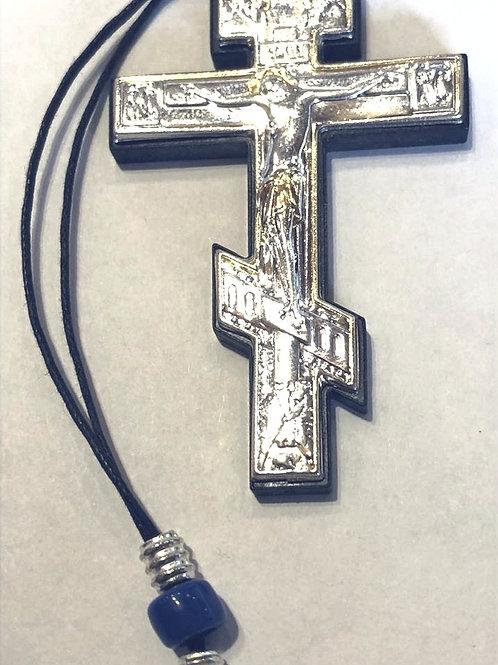 Крест с распятием подвесной автомобильный