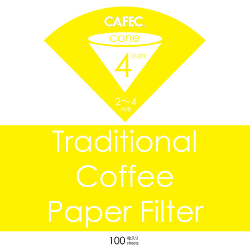 CAFEC Traditional Coffee Paper Filter