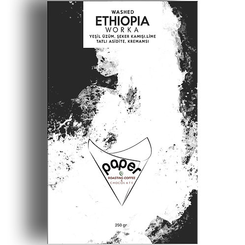 Ethiopia Worka Washed - 250gr