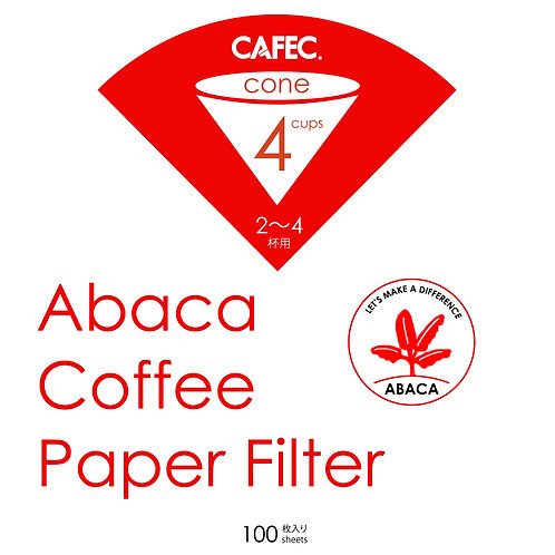 CAFEC Abaca Coffee Paper Filter