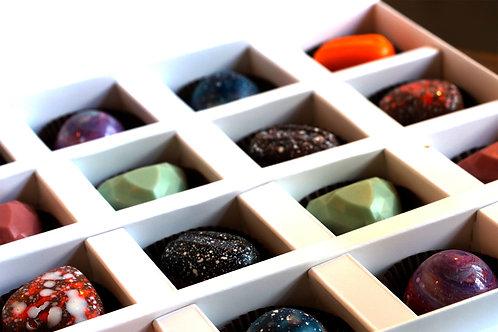 16'li Belçika Çikolatalı Trüf Kutusu