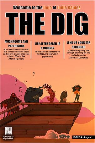 The DIG - Dojo of IndieGames [Digital Magazine]