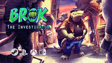 You're an Investi-Gator... I chuckled too. It wasn't just the pun that sold me though, a combination of Point'n'Click adventure with Platformer and Beat'em Up features is what really caught my interest.