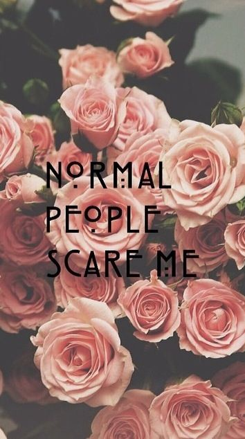 Why Normal People Scare Me Part 5