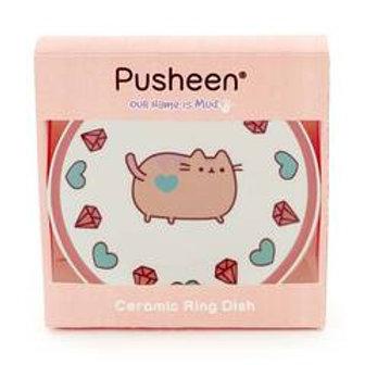 PUSHEEN PINK TRINKET TRAY