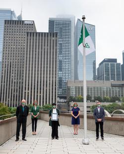 Franco-Ontarian Flag Raising