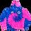 Thumbnail: Gimme Some Sugar Hoodie - Cotton Candy Tie Dye