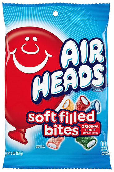 Air Heads Soft Filled Bites