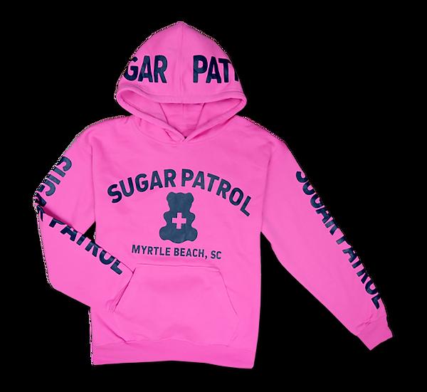 Kids Sugar Patrol™ Hoodie - Neon Pink