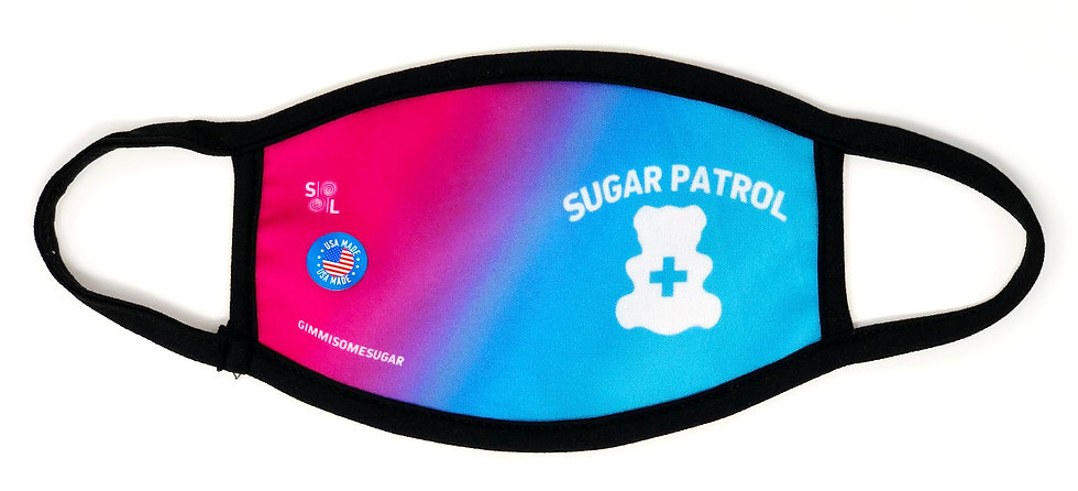 SUGAR PATROL - ADULT MASK