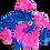 Thumbnail: KIDS Gimme Some Sugar Hoodie - Cotton Candy Tie Dye
