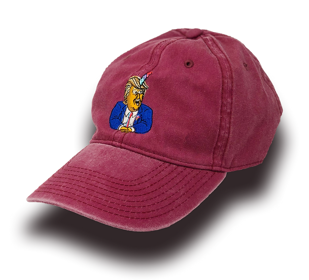 Unicorn Trump Sugar life Dad Hat - Red