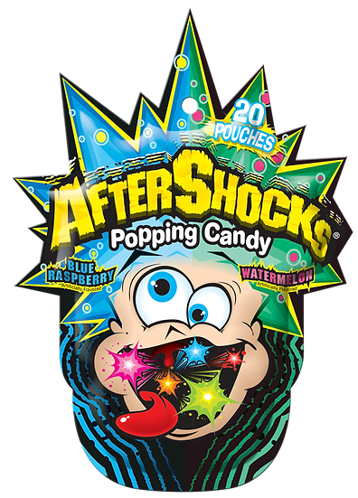 copy of After Shocks Popping Candy -Blue Raspberry / Watermelon