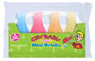 Cry Baby Sour Wax Bottles