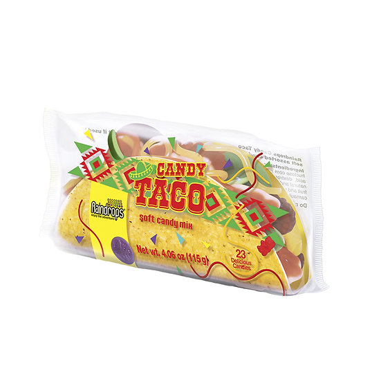 Raindrops Gummy Taco
