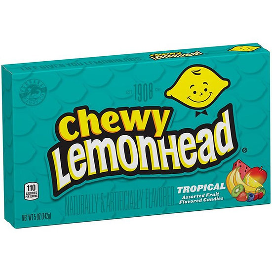 Chewy Lemonhead  Theater Box - Tropical Mix