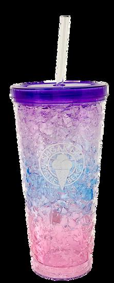 Sugar LIfe Freezer Tumbler - Purple Tye Dye