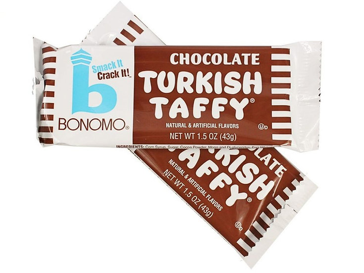 Bonomo - Chocolate Turkish Taffy