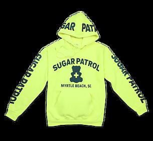Sugar Patrol™ Hoodie - Neon Yellow