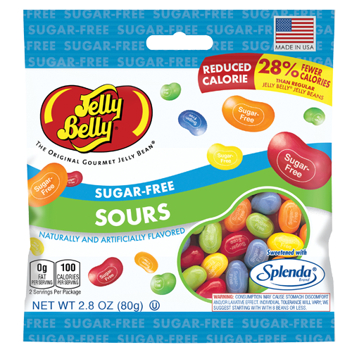 Sugar Free Sours - 2.8 OZ Jelly Belly