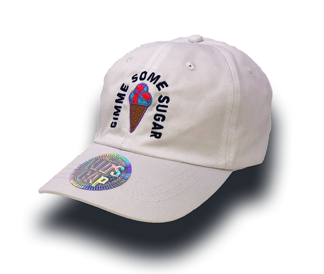 KIDS - GIMME SOME SUGAR Hat - White