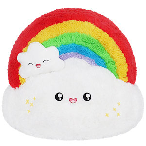 Rainbow Over The Clouds  - Squishable