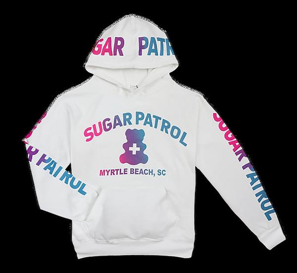 Kids Sugar Patrol™  Hoodie - WHITE