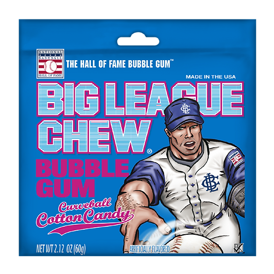 Big League Chew - Curveball Cotton Candy