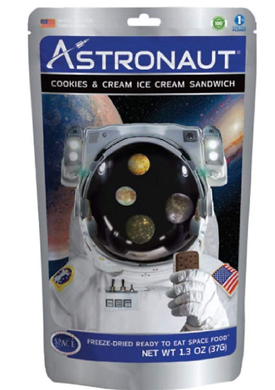 Astronaut Ice Cream Sandwich - Cookies & Cream