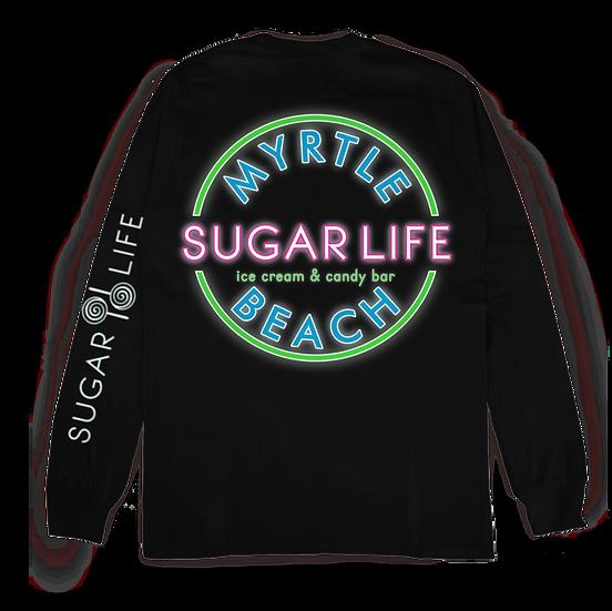 Sugar Life Neon Stamp