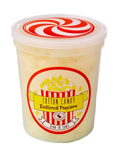 Butter Popcorn - Cotton Candy