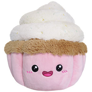 Vanilla Swirl Cupcake - Squishable