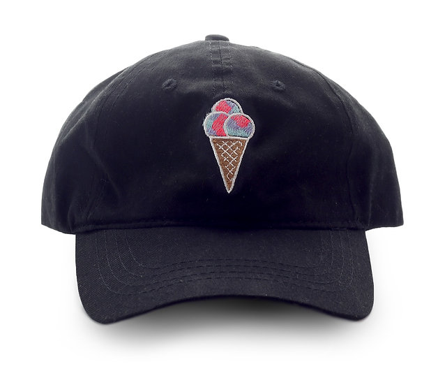 Sugar Life Cone Dad hat - Black