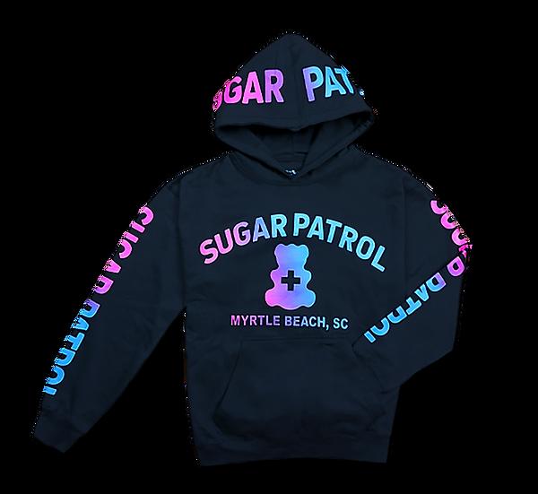 Kids Sugar Patrol™  Hoodie - Black