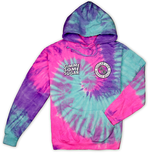 Gimme Some Sugar Hoodie - Pink & Purple Jelly