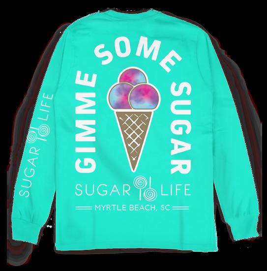 Cotton Candy Ice Cream Cone
