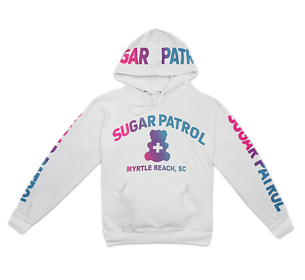 Sugar Patrol™  Hoodie - WHITE