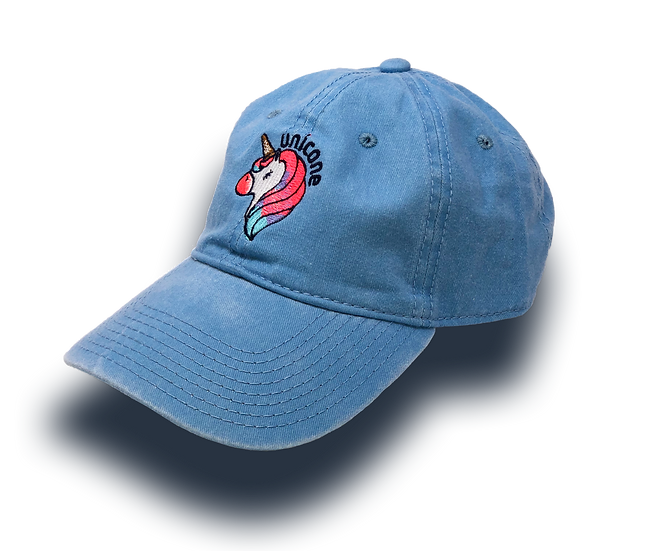 Sugar Life Unicone Dad hat - Light Blue
