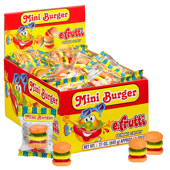 Efrutti - Mini Gummy Candy Burger