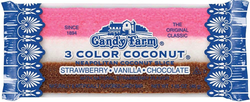 3 Color Cooconut Bar