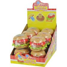 Nik-N-Lip - Fast burger Lollipop & Candy powder