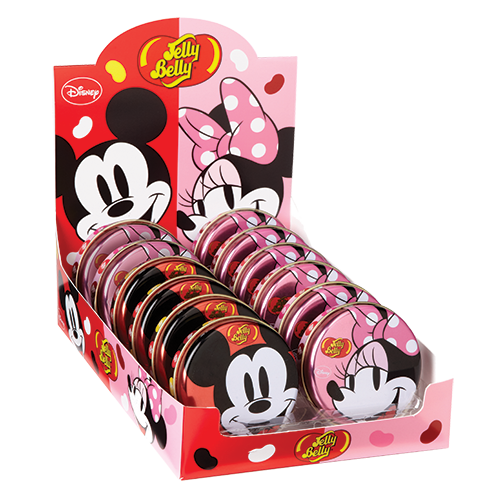 Mickey & Minnie Mouse - Jelly Belly Tins